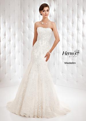 Свадебные платья годе, русалка