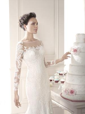 Cвадебное платье для венчания
